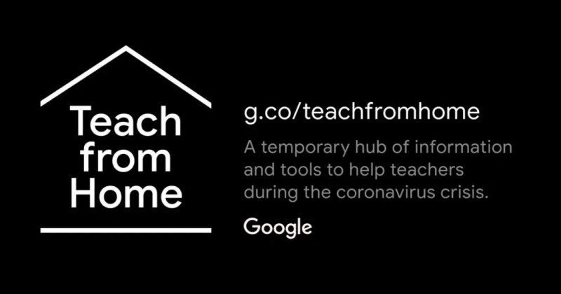Google Teach from home