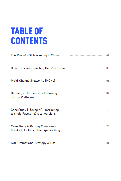 The Power of Influencer Marketing in China