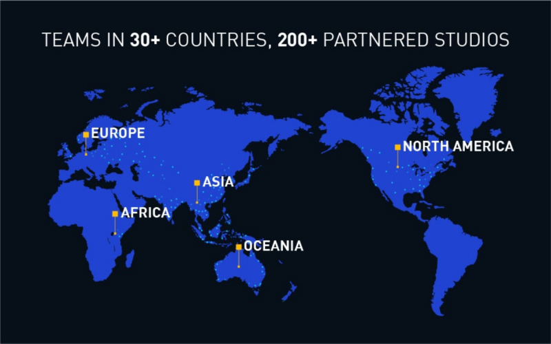 Teams in more than 30 countries, Nativex