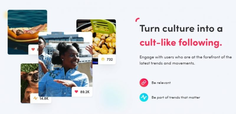 Turn culture into a cult-like following, Nativex