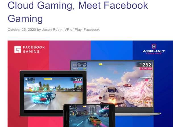 Cloud Gaming, Meet Facebook Gaming, Nativex