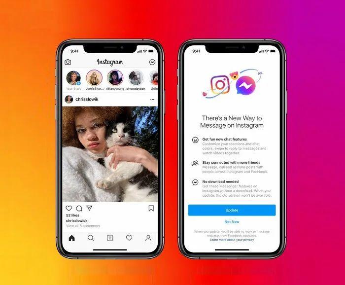 Facebook 旗下通信应用合并,Nativex