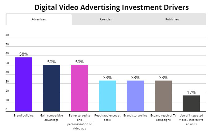 digital video advertising investment drivers, Nativex